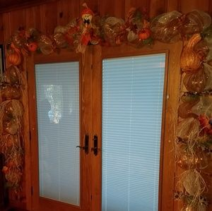 Other - 18' Fall Thanksgiving Autumn  Swag Door Garland